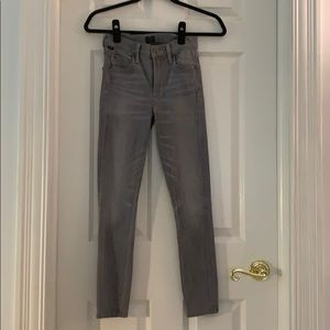 Gray Citizens of Humanity cropped jean